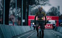 Wout van Aert (BEL/Jumbo-Visma) wins the UCI cyclo-cross World Cup race in Dendermonde on september 27, 2020 in Belgium.<br /> <br /> ©kramon