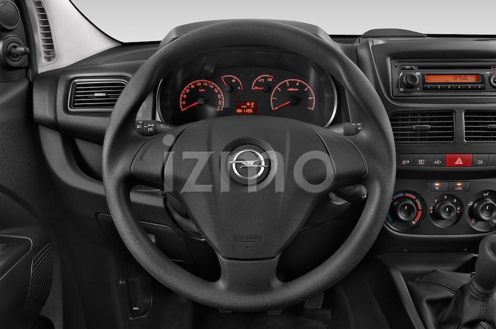 Car pictures of steering wheel view of a 2015 Opel COMBO LiHI 4 Door Cargo Van 2WD Steering Wheel