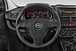 Car pictures of steering wheel view of a 2015 Opel COMBO LiHI 4 Door Cargo Van 2WD Steering Wheel