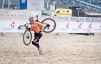 Mathieu Van der Poel (NED/Alpecin-Fenix)<br /> <br /> UCI 2021 Cyclocross World Championships - Ostend, Belgium<br /> <br /> Elite Men's Race<br /> <br /> ©kramon