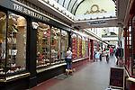Great Britain, Bath and NE Somerset, Bath: Boutique shops in The Corridor shopping parade