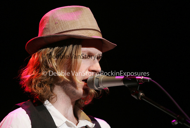Beck live at The Coors Ampitheatre in Chula Vista ,California on September 27,2006 .Copyright 2006 by RockinExposures