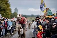 Jonas Rutsch (GER/EF Educution - Nippo)<br /> <br /> 118th Paris-Roubaix 2021 (1.UWT)<br /> One day race from Compiègne to Roubaix (FRA) (257.7km)<br /> <br /> ©kramon
