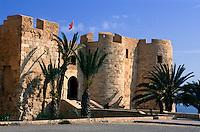 Festung Bordj el Kebir in Houmt Souk, Djerba, Tunesien