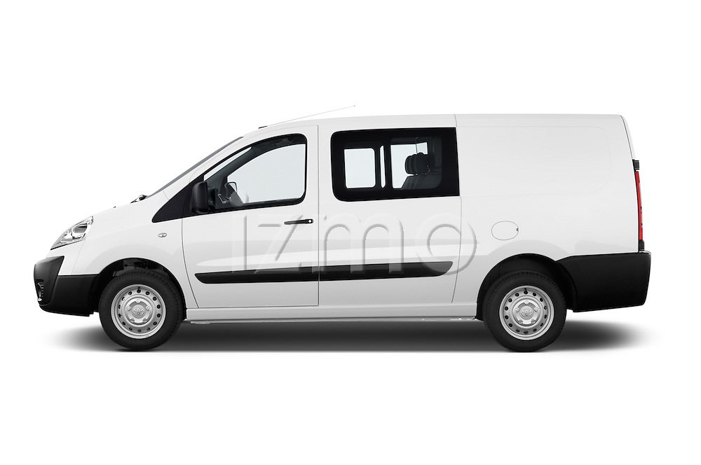 Car Driver side profile view of a 2013 Toyota PROACE COMFORT 5 Door Combi Side View