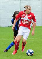 Club Brugge - Standard Femina :  Melanie Mignon.fotografe Joke Vuylsteke - vrouwenteam.be