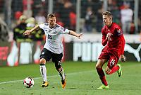 Joshua Kimmich #18 (Germany) and Jakub Jankto #14 (Tschechische Republik), Tschechische Republik vs. Germany, Football, WM-Qualifikation, 01.09.2017 *** Local Caption *** © pixathlon<br /> Contact: +49-40-22 63 02 60 , info@pixathlon.de