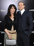 Charlie Hunnam and Katey Sagal at The Warner Bros. Pictures L.A. Premiere of Pacific Premiere held at The Dolby Theater in Hollywood, California on July 09,2013                                                                   Copyright 2013 Hollywood Press Agency
