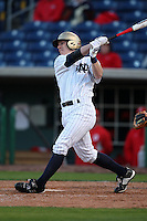 February 27, 2010:  Outfielder Ryan Connolly (10) of the Notre Dame Fighting Irish during the Big East/Big 10 Challenge at Bright House Field in Clearwater, FL.  Photo By Mike Janes/Four Seam Images