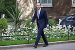 © Joel Goodman - 07973 332324 . 11/05/2015 . London , UK . MATTHEW HANCOCK arrives at 10 Downing Street this afternoon (11th May 2015) . Photo credit : Joel Goodman