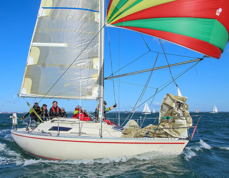 In addition to newer boats, the Cruisers 3 fleet provides a welcoming home for a wide variety of vintage Firsts from the Beneteau stable. Photo Afloat.ie/David O'Brien
