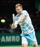 Februari 13, 2015, Netherlands, Rotterdam, Ahoy, ABN AMRO World Tennis Tournament, Tomas Berdych (CZE) <br /> Photo: Tennisimages/Henk Koster