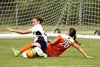 SAN ANTONIO, TX - SEPTEMBER 3, 2017: The Oklahoma State University Cowgirls defeat the University of Texas at San Antonio Roadrunners 6-0 at the Park West Athletics Complex. (Photo by Jeff Huehn)