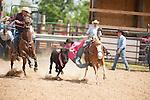 VHSRA - New Kent, VA - 5.18.2014 - Steer Wrestling