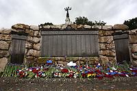 Le Mémorial terre-neuvien à Beaumont-Hamel après la cérémonie.<br /> <br /> Photo : Julien Faure