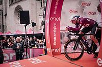 Elia Viviani (ITA/QuickStep Floors)<br /> <br /> stage 16: Trento – Rovereto iTT (34.2 km)<br /> 101th Giro d'Italia 2018