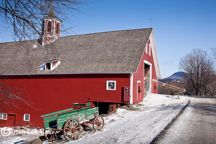 Mountain Valley Farm in Waitsfield, VT, USA