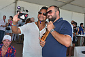 MIAMI BEACH, FL - APRIL 25: Cuba Gooding Jr. and Jonathan attends The World Polo League Beach Polo Miami Beach on April 25, 2021 in Miami Beach, Florida.  ( Photo by Johnny Louis / jlnphotography.com )