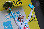 TOUR DE FRANCE 2020- UCI Cycling World Tour under Virus Outbreak. Stage 14th from Clermont-Ferrand to Lyon on the 12th of September 20220, Lyon, France. Tadej Pogacar Slovenia Uae Team Emirates