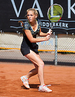 08-08-13, Netherlands, Rotterdam,  TV Victoria, Tennis, NJK 2013, National Junior Tennis Championships 2013, Britt Schreuder  <br /> <br /> <br /> Photo: Henk Koster