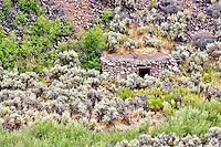 Toolhouse cabin. Black Rock Desert National Conservation Area. Nevada