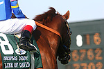 09 April 2010: Line of David and Jon Court before winning the Arkansas Derby at Oaklawn Park in Hot Springs, AR.