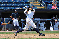 Staten Island Yankees infielder Matt Snyder (45) during game against the Aberdeen Ironbirds at Richmond County Bank Ballpark at St.George on July 18, 2012 in Staten Island, NY.  Staten Island defeated Aberdeen 3-2.  Tomasso DeRosa/Four Seam Images