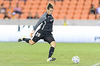Houston, TX - Sunday Sept. 25, 2016: Haley Kopmeyer during a regular season National Women's Soccer League (NWSL) match between the Houston Dash and the Seattle Reign FC at BBVA Compass Stadium.
