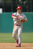 March 7 2010: Ben Woodchick of University of New Mexico during game against USC at Dedeaux Field in Los Angeles,CA.  Photo by Larry Goren/Four Seam Images