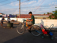 Street Photography, Manila, Philippines Unusual transport