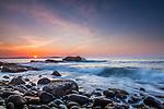 Sunrise in Acadia National Park, Maine, USA