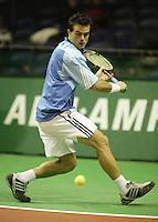 18-2-06, Netherlands, tennis, Rotterdam, ABNAMROWTT, Qualifying round, Daniele Bracciali
