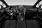 Stock photo of straight dashboard view of 2016 Lexus RX F SPORT 5 Door Suv 2WD Dashboard