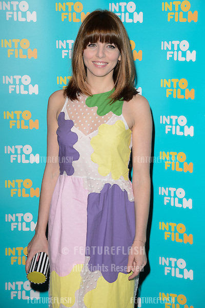 Ophelia Lovibond arrives for the Into Film Awards 2015 at the Empire Leicester Square, London. 24/03/2015 Picture by: Steve Vas / Featureflash