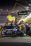 Oct 11, 2008; 7:11:33 PM;  Concord, NC, USA; Nascar Sprint Cup Series for the Bank of America 500  at Lowe's Motor Speedway. Mandatory Credit: Joey Millard