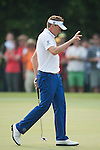 Ian Poulter of England gestures during Hong Kong Open golf tournament at the Fanling golf course on 24 October 2015 in Hong Kong, China. Photo by Xaume Olleros / Power Sport Images