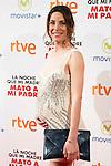 """Pregnant Raquel Quintana attends to the premiere of the spanish film """"La noche que mi madre mato a mi padre"""" at Palacio de la Prensa in Madrid. April 27, 2016. (ALTERPHOTOS/Borja B.Hojas)"""