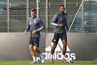Toni Kroos (Deutschland Germany), Jonathan Tah (Deutschland Germany) - 31.08.2020: Erstes Training der Deutschen Nationalmannschaft vor dem Nations League gegen Spanien, ADM Sportpark Stuttgart