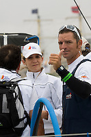 TELEFONICA BLUE RACING TEAM .VOLVO OCEAN RACE 2008-2009 start in Alicante, Spain, 11/10/2008