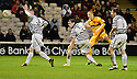 MOTHERWELL'S HENRIK OJAMAA SCORES MOTHERWELL'S FOURTH GOAL..07/01/2012 sct_jsp009_motherwell_v_queens_park     .Copyright  Pic : James Stewart.James Stewart Photography 19 Carronlea Drive, Falkirk. FK2 8DN      Vat Reg No. 607 6932 25.Telephone      : +44 (0)1324 570291 .Mobile              : +44 (0)7721 416997.E-mail  :  jim@jspa.co.uk.If you require further information then contact Jim Stewart on any of the numbers above.........