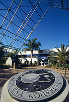 Entrance to the John F. Kennedy Space Center on Merritt Island, Cape Canaveral, Florida
