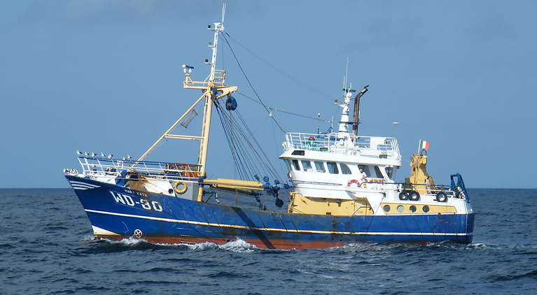 The beam trawler Mary Kate was bought in the Netherlands by CJ Gaffney of Arklow, Co Wicklow and his father in 2007