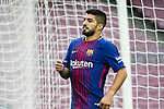 Luis Alberto Suarez Diaz of FC Barcelona reacts during the La Liga 2017-18 match between FC Barcelona and Las Palmas at Camp Nou on 01 October 2017 in Barcelona, Spain. (Photo by Vicens Gimenez / Power Sport Images