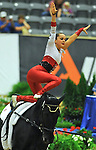 7 October 2010: Hannah Eccles (GBR) competes during Vaulting in the World Equestrian Games in Lexington, Kentucky