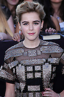 """WESTWOOD, LOS ANGELES, CA, USA - MARCH 18: Kiernan Shipka at the World Premiere Of Summit Entertainment's """"Divergent"""" held at the Regency Bruin Theatre on March 18, 2014 in Westwood, Los Angeles, California, United States. (Photo by David Acosta/Celebrity Monitor)"""