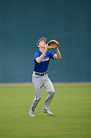 Cody Damon (15), from Palm Beach Gardens, FL, while playing for the Dodgers during the Baseball Factory Pirate City Christmas Camp & Tournament on December 30, 2017 at Pirate City in Bradenton, Florida.  (Mike Janes/Four Seam Images)