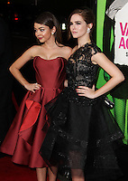 """LOS ANGELES, CA - FEBRUARY 04: Sarah Hyland, Zoey Deutch at the Los Angeles Premiere Of The Weinstein Company's """"Vampire Academy"""" held at Regal Cinemas L.A. Live on February 4, 2014 in Los Angeles, California. (Photo by Xavier Collin/Celebrity Monitor)"""