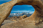 Mobius Arch, Mount Whitney, Alabama Hills, Inyo National Forest, Eastern Sierra, California
