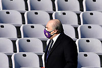 ACF Fiorentina president Rocco Commisso walks in front of empty stands prior to the Italy Cup round of 16 football match between ACF Fiorentina and FC Internazionale at Artemio Franchi stadium in Firenze (Italy), January 13th, 2021. Photo Andrea Staccioli / Insidefoto