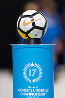 Bradenton, FL - Sunday, June 12, 2018: Nike game ball prior to a U-17 Women's Championship Finals match between USA and Mexico at IMG Academy.  USA defeated Mexico 3-2 to win the championship.